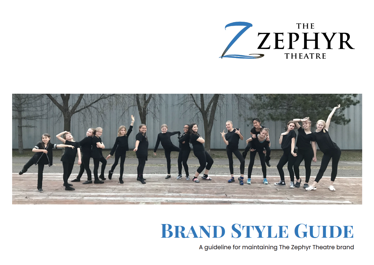 Zephyr Theatre Style Guide